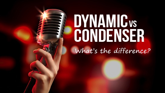 difference between a dynamic and a condenser